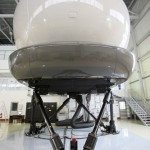 """Delivery of the Airbus A-320 flight simulator for """"Rossiya"""" airline."""