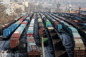 August 2014: Russian Railways' network loaded 105.8 million tons of freight