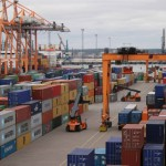 Total throughput and container volume of Russian seaports in 2016