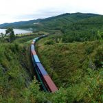 First container train dispatched by Primorje-1 transit corridor