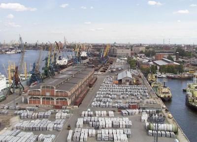 Порт Приморск — данные за январь-август