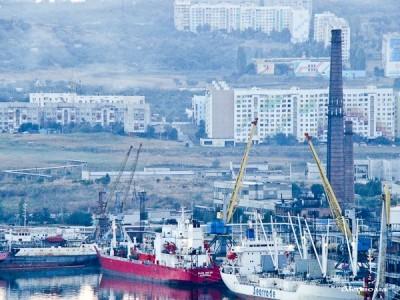 Керченский морской порт - десятимесячный спад