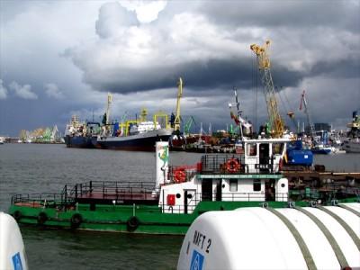 Клайпедский порт: снижение грузооборота