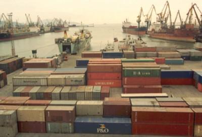 Контейнерные порты Украины прервали рост перевалки