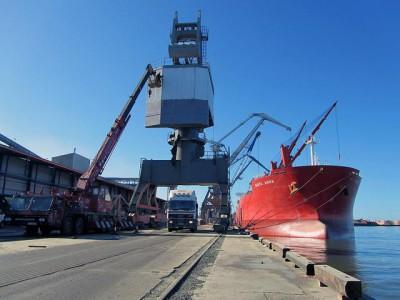 Январь-февраль для Лиепайского порта