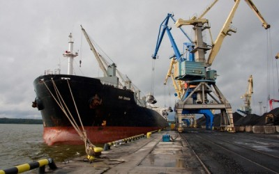 ООО «Порт Высоцкий» более чем в полтора раза увеличил перевалку угля