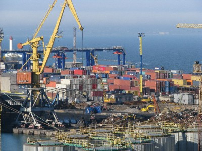 Одесский порт — динамика за январь-ноябрь