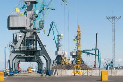 Автомобильный терминал Новая Гавань (порт Усть-Луга) утроил грузооборот
