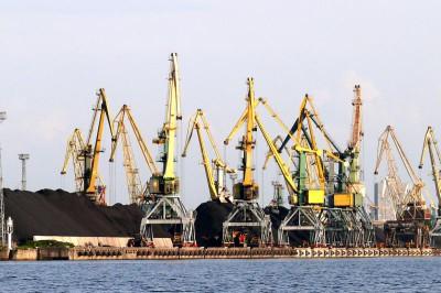Рижский порт — январский рост