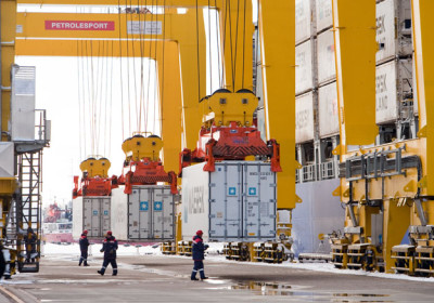 Контейнерооборот Global Ports в российских портах в январе-мае 2014 г. упал на 1,5%