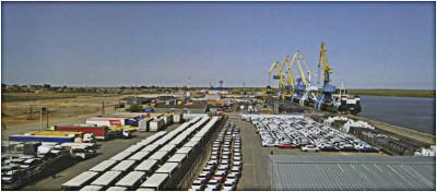 Оборот контейнеров в российском Каспийском бассейне в январе-мае 2014 г. снизился на 57,7%
