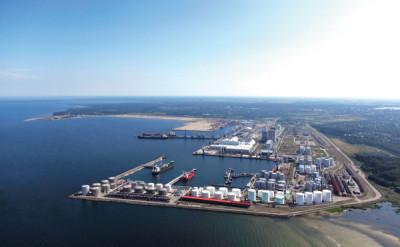 Таллинский порт: динамика и структура грузооборота