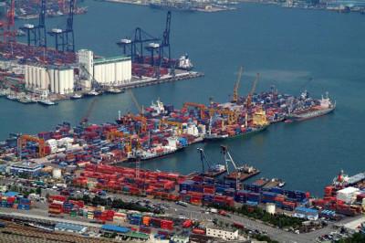 Порт Гонконг - рост контейнерооборота
