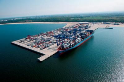 Порт Гданьск - динамика контейнерооборота
