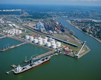 Вентспилский порт – динамика грузооборота