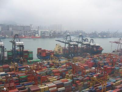 Грузооборот китайских портов – восьмимесячная динамика