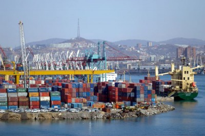 Восьмимесячный контейнерооборот российских портов Каспийского бассейна