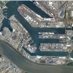 Порт Антверпен – динамика грузооборота