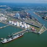 Вентспилсский порт – сокращение грузооборота