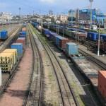 Перевозки ускоренными контейнерными поездами на участке Петербург – Москва