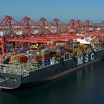 Январский контейнерооборот порта Лонг-Бич
