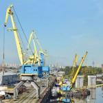 Украинские речные порты нарастили грузооборот