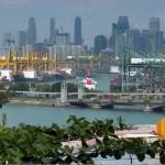 Порт Сингапур продемонстрировал рост грузооборота в первом квартале