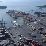 Грузооборот порта Хельсинки в январе-апреле 2015 г. вырос на 6%