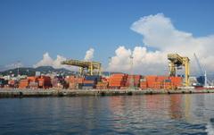 Мудьтимодальные морские международные грузовые перевозки