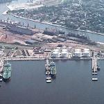 Грузооборот Вентспилсского порта за 4 месяца 2015 года упал на 13,9%