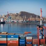 Оборот контейнеров морских портов РФ в январе-июле 2016 года