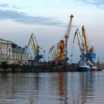 Изменения в морском порту Выборг (Ленинградская область)