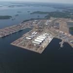 Контейнерооборот портов Финляндии за 6 месяцев 2015 года упал на 3,9%