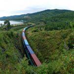 По международному транспортному коридору Приморье-1 отправлен первый транзитный контейнерный поезд