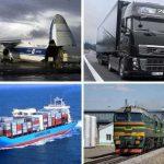 Грузооборот транспорта РФ в январе-апреле 2017 года вырос на 6,4%