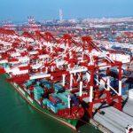 Грузооборот основных портов КНР по итогам января-марта 2018 года