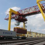 Объем контейнерных перевозок по сети РЖД в январе-ноябре 2017 года увеличился на 19,3%
