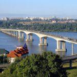 Сильно ограничено движение через Волгу в Костроме